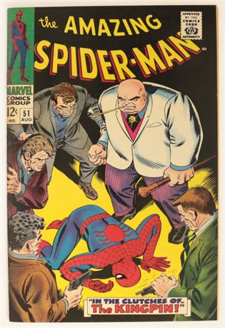 Amazing Spider-Man #51 VF+ 1967