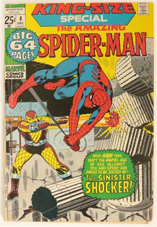 Amazing Spider-Man Special #8 FR/GD 1971