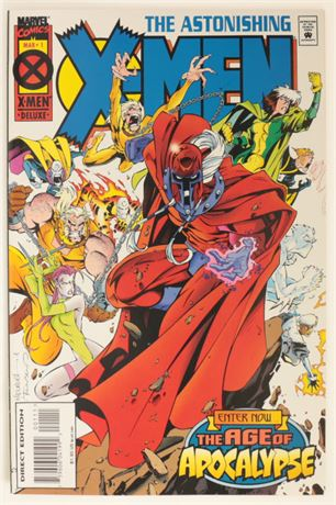 Astonishing X-Men #1 VF+ 1995