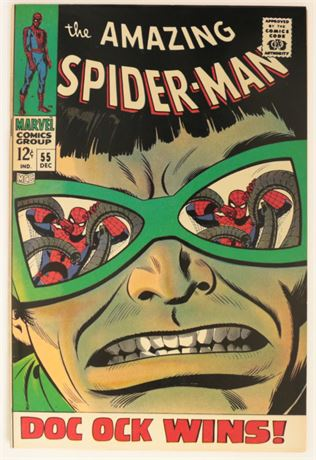 Amazing Spider-Man #55 VF 1967