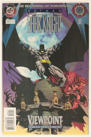 Batman: Legend of The Dark Knight #0 VF+ 1994