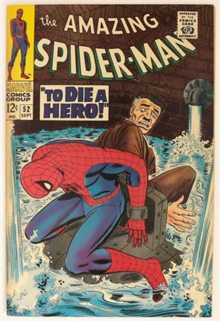 Amazing Spider-Man #52 FN+ 1967