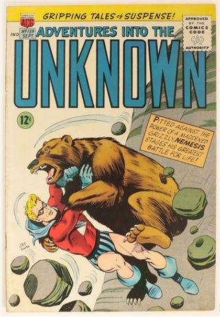 Adventures Into The Unknown #159 VG+ 1963