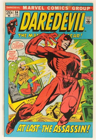 Daredevil #84 VF- 1972