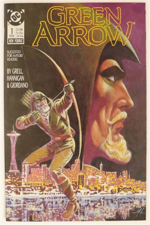 Green Arrow #1 VF 1988