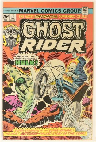 Ghost Rider #10 VF/NM 1975