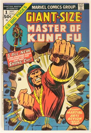 Giant-Size Master of Kung Fu #1 VF/NM 1974