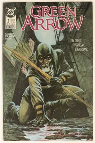 Green Arrow #2 NM- 1988