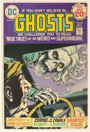 Ghosts #28 GD+ 1974
