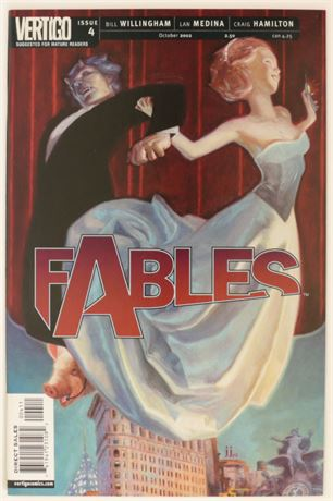 Fables #4 VF/NM 2002