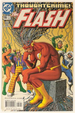 Flash #186 VF- 2002