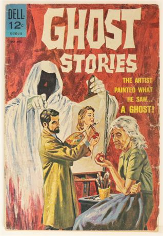 Ghost Stories #4 GD+ 1963