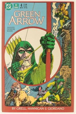 Green Arrow #4 VF/NM 1988