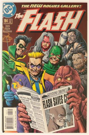 Flash #184 VF/NM 2002