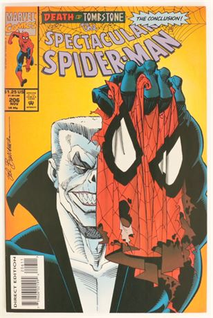 Spectacular Spider-Man #206 VF/NM 1993