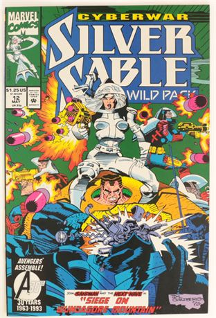 Silver Sable And The Wild Pack #12 NM- 1993