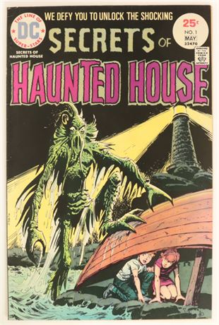 Secrets of Haunted House #1 VG- 1975