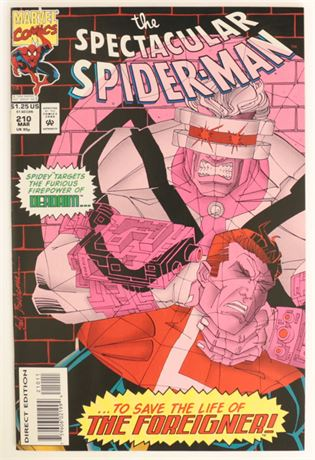 Spectacular Spider-Man #210 VF/NM 1994