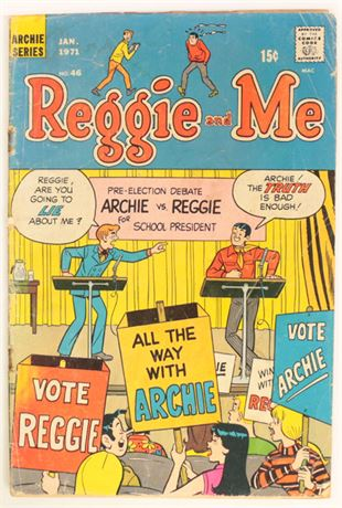 Reggie and Me #46 GD 1971