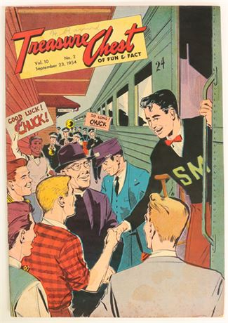 Treasure Chest Vol.10 #2 VG+ 1954
