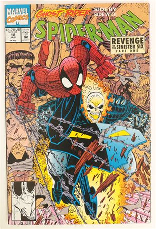 Spider-Man #18 NM- 1991