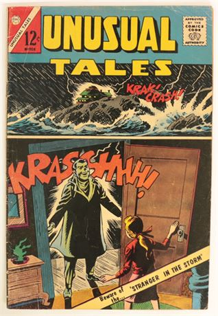 Unusual Tales #38 VG- 1963