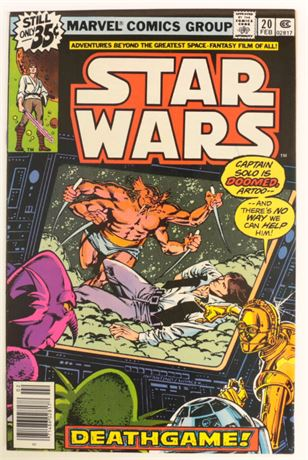 Star Wars #20 VF 1979