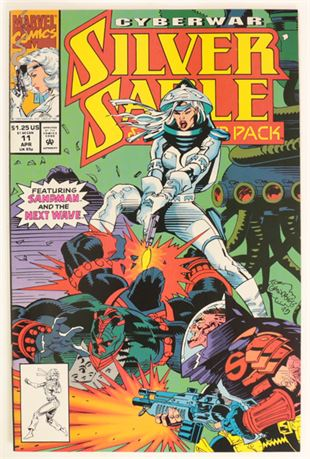 Silver Sable And The Wild Pack #11 NM- 1993