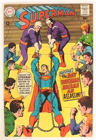 Superman #206 VF 1968