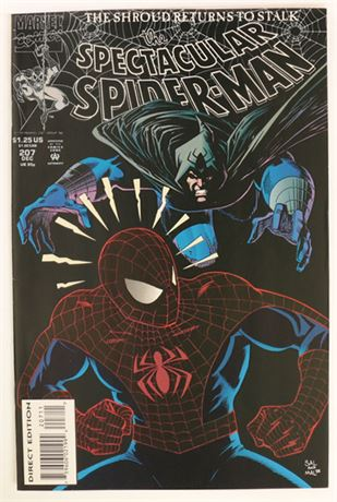 Spectacular Spider-Man #207 VF/NM 1993