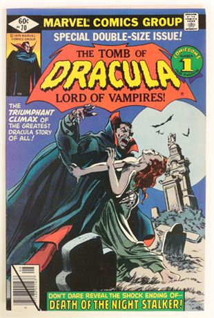Tomb of Dracula #70 F/VF 1979