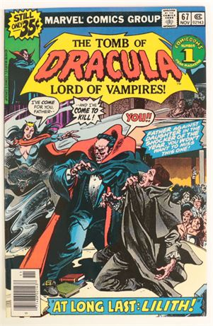 Tomb of Dracula #67 F/VF 1978