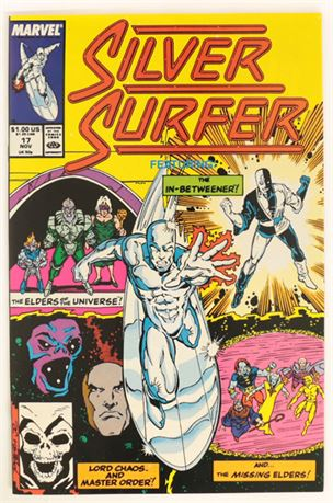 Silver Surfer #17 VF/NM 1988