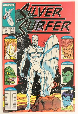 Silver Surfer #20 VF/NM 1989