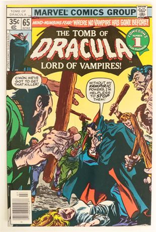 Tomb of Dracula #65 VF- 1978