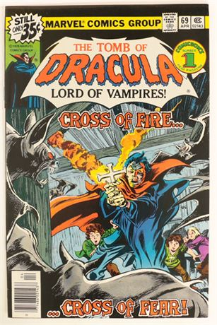Tomb of Dracula #69 VF 1979