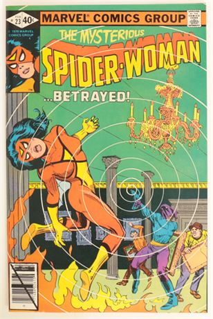 Spider-Woman #23 VF- 1980