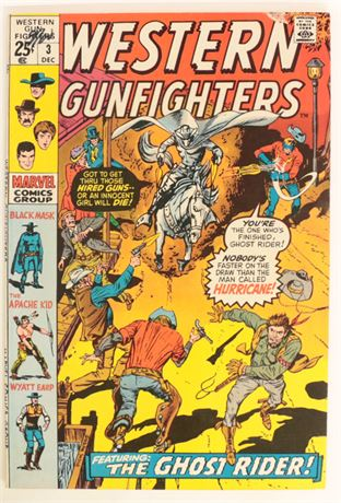Western Gunfighters #3 VG/F 1970