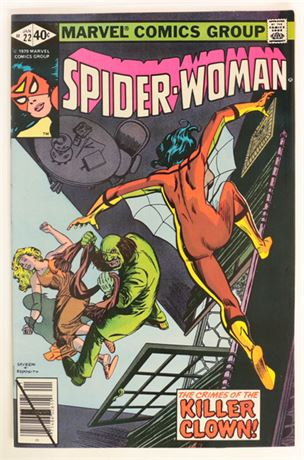 Spider-Woman #22 F/VF 1980