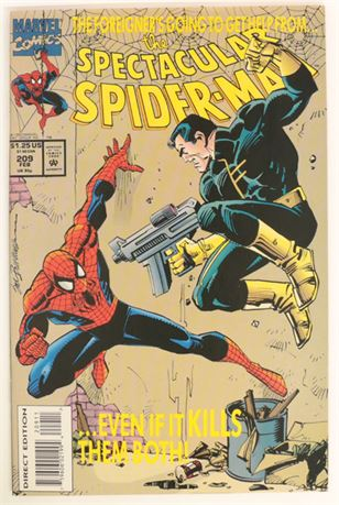 Spectacular Spider-Man #209 VF+ 1994
