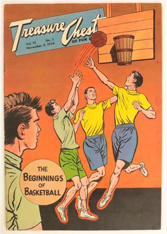 Treasure Chest Vol.10 #5 VG+ 1954