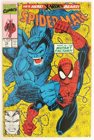Spider-Man #15 NM- 1991