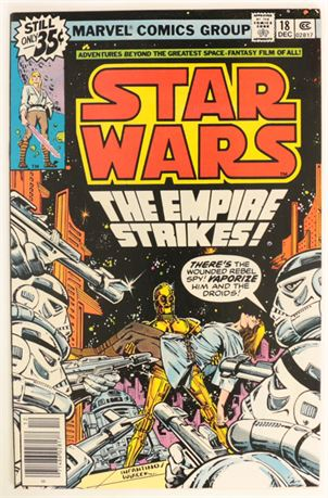Star Wars #18 VF+ 1978