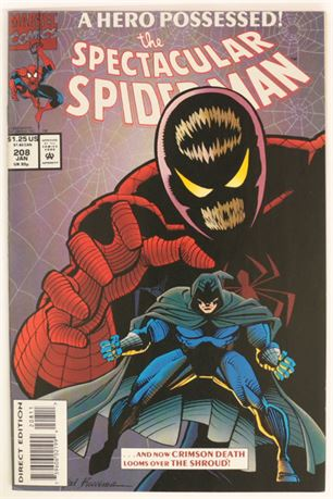 Spectacular Spider-Man #208 NM- 1994