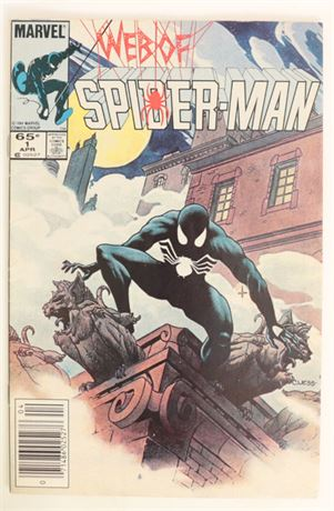 Web of Spider-Man #1 VG/F 1985