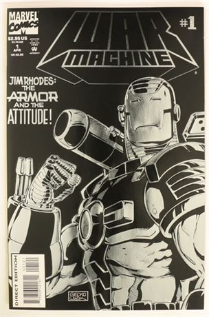 War Machine #1 VF 1994
