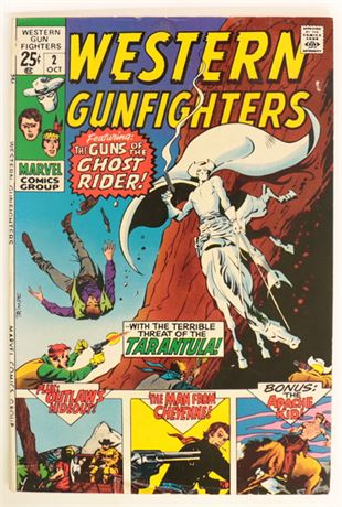 Western Gunfighters #2 VG 1970