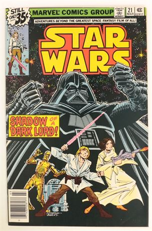 Star Wars #21 VF+ 1979