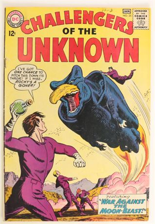 Challengers of The Unknown #35 VG- 1963/64