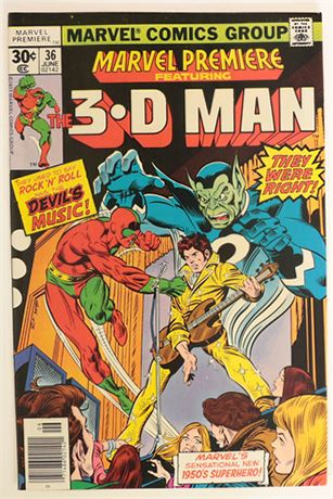 Marvel Premiere #36 F/VF 1977